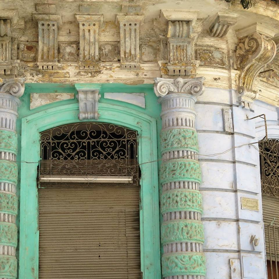 Faded colour, Cuba, courtesy of Sarah Morgan