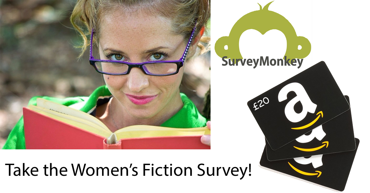 women's fiction survey - tell us your views and win an Amazon gift card